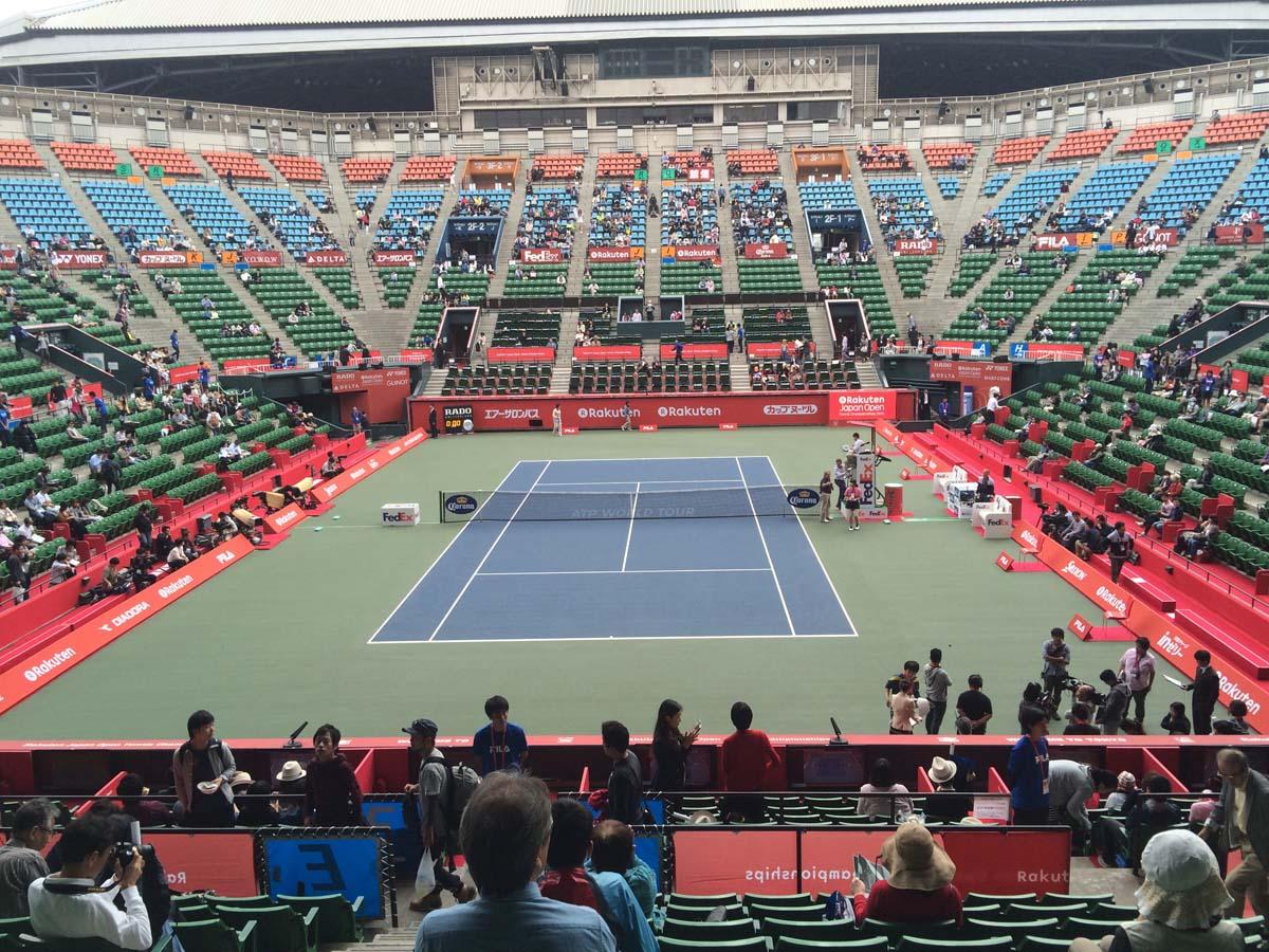 楽天ジャパンオープンテニス2015
