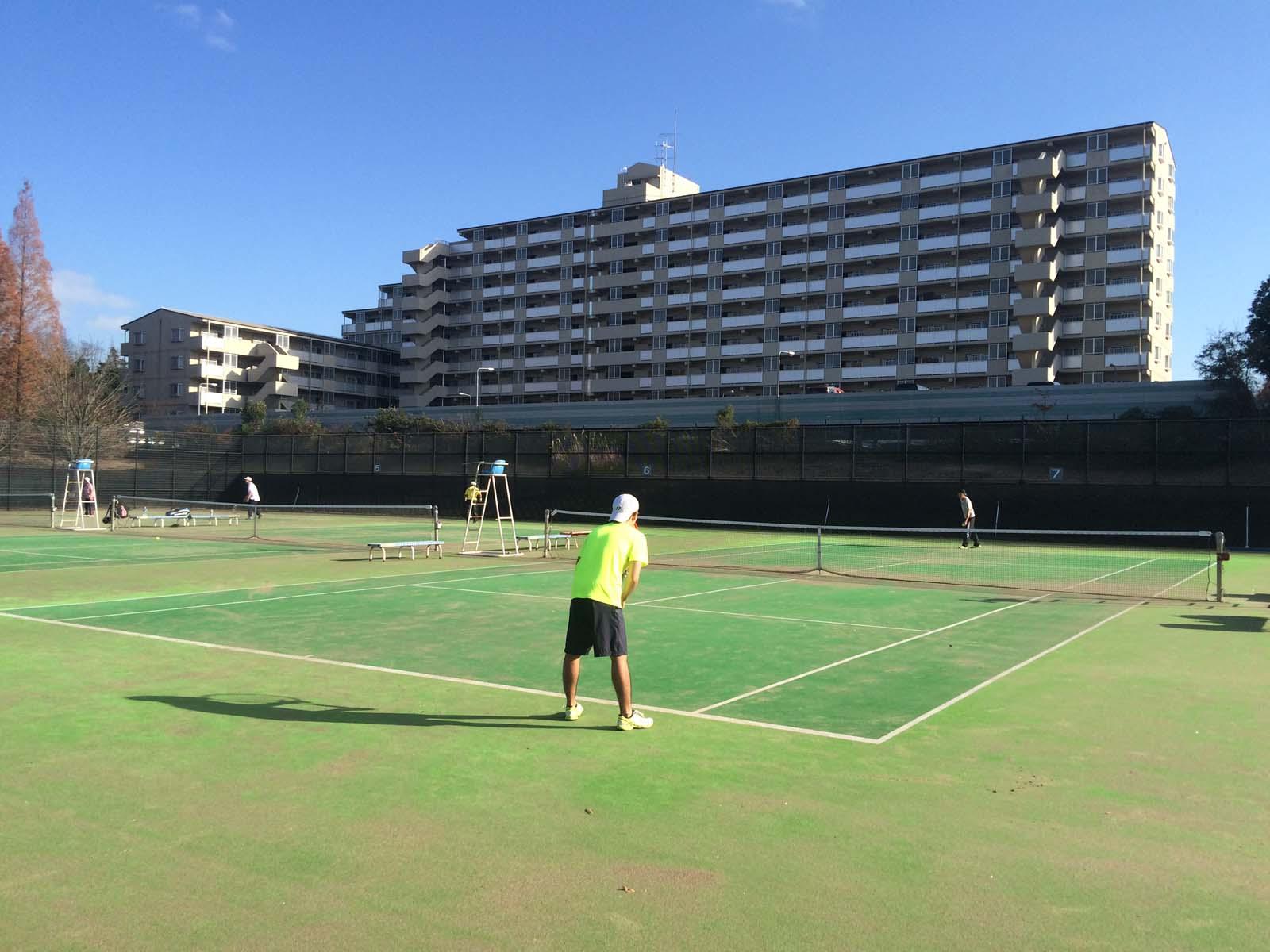 シフテニ柏の葉テニスコート
