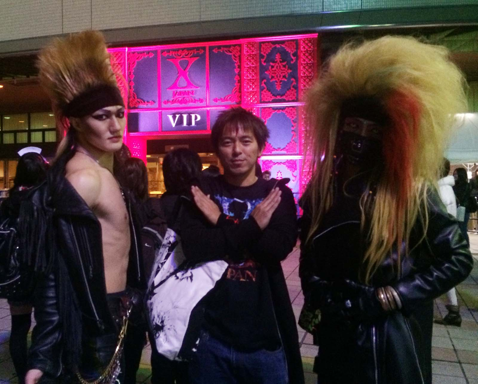 TOSHIとHIDEと写真