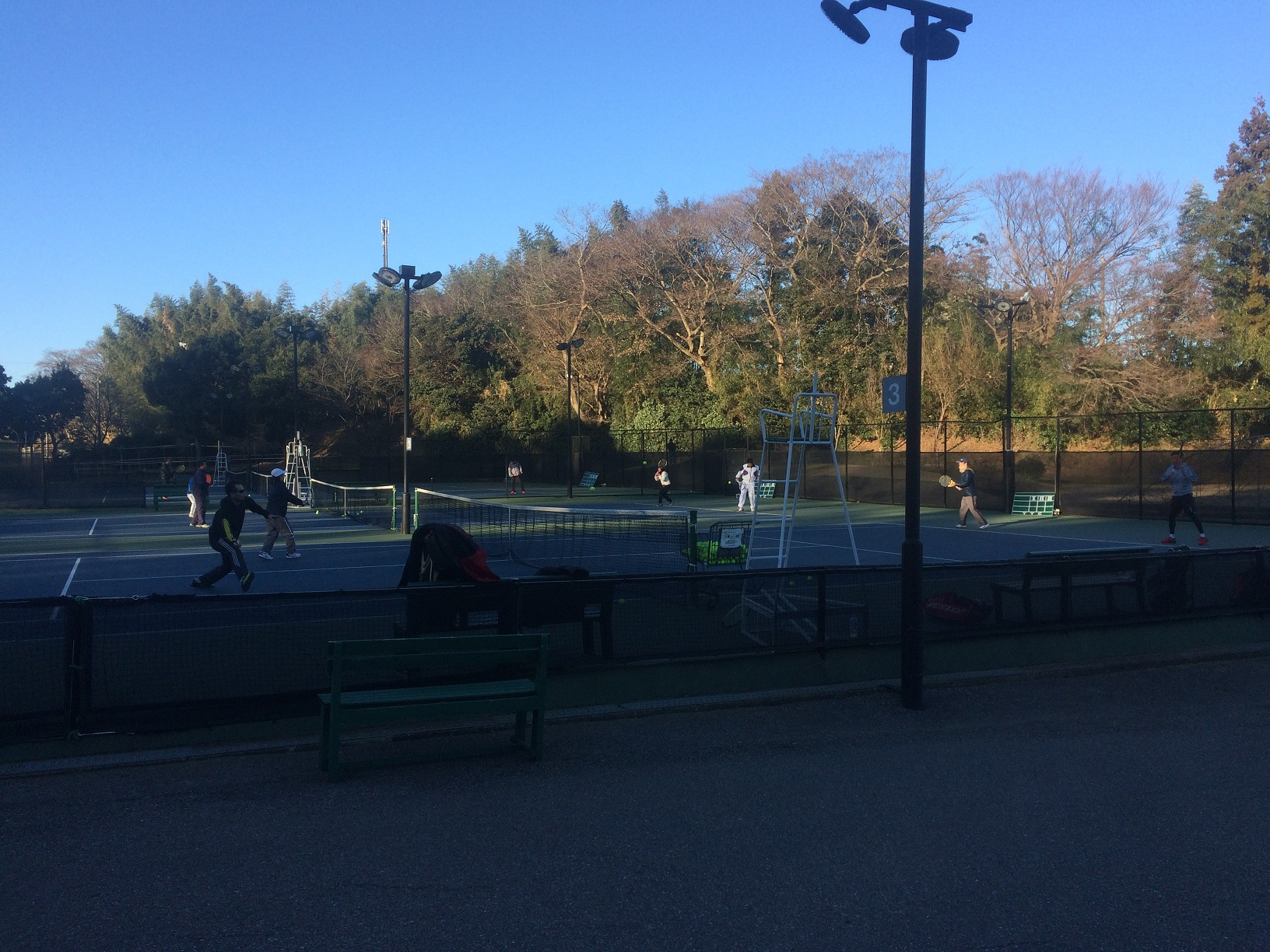 吉田記念テニス研修センター 草トーナメント